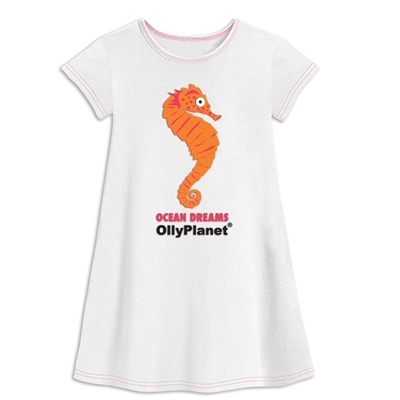DRESS ORANGE SEAHORSE
