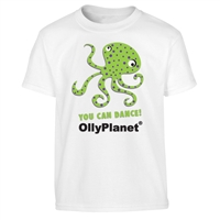 Dancing Green Octopus