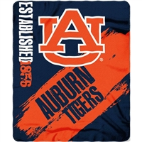 "Auburn Tigers 50""x60"" Painted Fleece Throw"