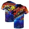 William Byron #24 Axalta Prism Sublimated Dry Fit Adult T-Shirt - Size Large
