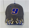 Chase Elliott #9 Flame Hat