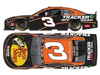 **PREORDER** 2021 Austin Dillon #3 Bass Pro Shops / Tracker Off Road 1/24 HO Color Chrome
