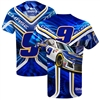 Chase Elliott #9 Napa Prism Sublimated Dry Fit Adult T-Shirt - Size Large