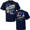 Chase Elliott #9 Napa Torque Adult T-Shirt - Size Medium