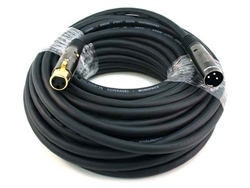 WholesaleCables.com 100ft Premier Series XLR Male to XLR Female 16AWG Cable