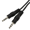 WholesaleCables.com 10A1-01106 6ft 3.5mm Stereo Cable 3.5mm Male to Male