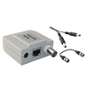 WholesaleCables.com 10B1-01240 Passive Video Balun Female BNC Connector Power on 3 Pairs - Camera Side
