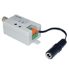 10B1-01310 Active Video Balun Female BNC Connector to Bare Wire Terminals Monitor/DVR Side