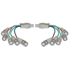 WholesaleCables.com 10B1-07125 25ft BNC x 5 Male to BNC x 5 Male Cable Double-Shielded