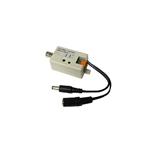 WholesaleCables.com 10B1-31100 HD Active Video Balun - Male BNC to bare wire - Camera Side