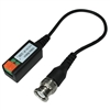 WholesaleCables.com 10B1-32100 HD Passive Video Balun - Male BNC to bare wire - Camera or Monitor Side
