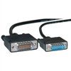 WholesaleCables.com 10CO-01106 6ft Cisco Compatible Serial Cable HD60 Male to DB15 Male Equivalent to CAB-X21MT-6
