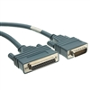 WholesaleCables.com 10CO-02206 6ft Cisco Compatible Serial Cable HD60 Male to DB25 Female Equivalent to CAB-232FC-6
