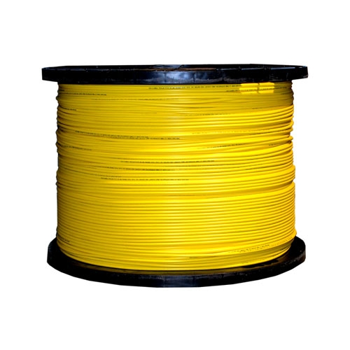Multimode 1000 Foot 2 Fiber Indoor//Outdoor Fiber Optic Cable 62.5//125 Spool Riser Rated Black
