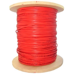 WholesaleCables.com  10F2-102NH 1000ft 2 Fiber Indoor Distribution Fiber Optic Cable, Multimode, 50/125, OM2, Orange, Riser Rated, Spool