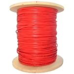 WholesaleCables.com  10F2-112NH 1000ft 12 Fiber Indoor Distribution Fiber Optic Cable, Multimode, 50/125, OM2, Orange, Riser Rated, Spool