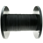 WholesaleCables.com 10F3-202NH 1000ft 2 Fiber Indoor/Outdoor Fiber Optic Cable Multimode 62.5/125 Black Riser Rated Spool