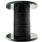 WholesaleCables.com 10F3-312NH 1000ft 12 Fiber Indoor/Outdoor Fiber Optic Cable Multimode  50/125 OM3 10 Gbit Black Riser Rated Spool