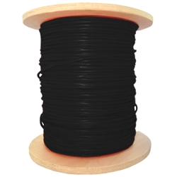 WholesaleCables.com 10F6-6222MH 1000ft Fire Alarm / Security Cable with Aquaseal Black 16/2 (16 AWG 2 Conductor) Stranded FPL Spool