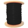 WholesaleCables.com 10F7-6222MH 1000ft Fire Alarm / Security Cable with Aquaseal Black 14/2 (14 AWG 2 Conductor) Stranded FPL Spool