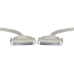 WholesaleCables.com 10P2-24106 6ft SCSI III cable HPDB68 (Half Pitch DB68) Male 34 Twisted Pairs Screw