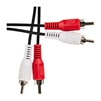 WholesaleCables.com 10R1-02112 12ft RCA Stereo Audio Cable Dual RCA Male 2 channel (Right and Left)
