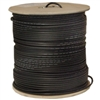 10X4-022NH 1000ft  Bulk RG6 Coaxial Cable Black 18 AWG Solid Core Spool
