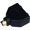 WholesaleCables.com S-Video to 2 x S-Video Splitter, Black  1124