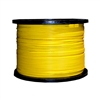 WholesaleCables.com 11F2-012NH 1000ft 12 Fiber Indoor Distribution Fiber Optic Cable Singlemode 9/125 Plenum Rated Yellow Spool