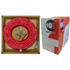 WholesaleCables.com 11F6-5271TH 1000ft Shielded Plenum Fire Alarm / Security Cable Red 16/2 (16 AWG 2 Conductor) Solid FPLP Pullbox