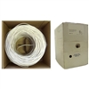 WholesaleCables.com 11K5-0491SH 1000ft Plenum Security Cable White 18/4 (18 AWG 4 Conductor) Stranded CMP Pullbox