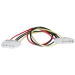 WholesaleCables.com 11W3-04412 12inch 4 Pin Molex Cable 5.25 inch Female to 5.25 inch Female