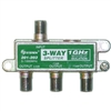 WholesaleCables.com 201-203 F-pin Coaxial Splitter 3 way 1 GHz 90 dB