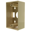 WholesaleCables.com 300-625IV Single Gang Surface Mount Box Ivory