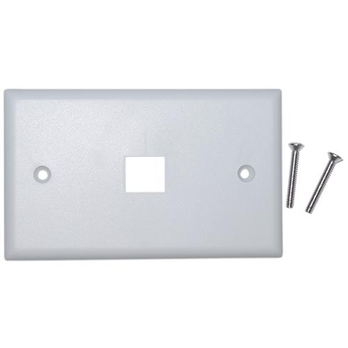 Single Gang Stainless Steel 301-2-9 VGA Wall Plate 2 Port DB9//HD15
