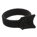 WholesaleCables.com 30CT-06160 Hook & Loop Cable Strap with Clip 5 Pieces 5.75 inch x 0.50 inch