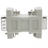 30D1-19200 DB9 Male / HD15 (VGA) Female VGA Adaptor Molded