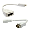 WholesaleCables.com WC-30H1-53000 Mini-DVI Male to HDMI Female Adapter Cable