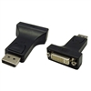 WholesaleCables.com 30H1-62000 DisplayPort to DVI Adapter DisplayPort Male to DVI Female