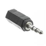 30S1-25300 2.5mm Stereo Female to 3.5mm Stereo Male Adapter