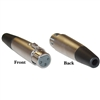 30XR-07400 XLR Female Connector Solder type 3 Conductor