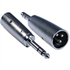 WholesaleCables.com 30XR-14200 XLR Male to 1/4 Stereo Male Adapter