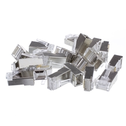 $8.49 WholesaleCables.com 31D0-51007 50 Pieces Shielded Cat5e RJ45 ...
