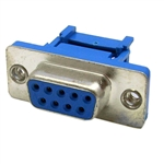 WholesaleCables.com 3430-14009 DB9 Female IDC Ribbon Right Angle Connector
