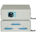 WholesaleCables.com 40D3-17602 AB 2 Way Switch Box DB25 Female