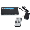 WholesaleCables.com 40H1-40400 VGA or Component Video Plus 3.5mm Stereo Audio to HDMI Converter HD15 or 3 RCA Female (RGB) and 3.5 mm Female to HDMI Female