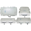 41C1-14400 PC / Printer Switch Box 4 PC share 1 Printer or 1 PC Share 4 Printer Quad DB25 (IEEE-1284) to DB25 (IEEE-1284)