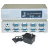WholesaleCables.com 41H1-14818 VGA Video Splitter 1 PC to 8 Monitors 400MHZ