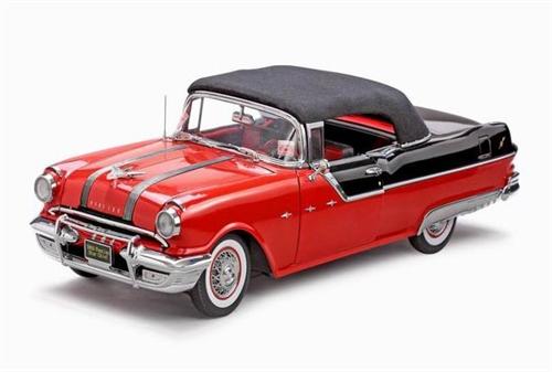 Pontiac Star Chief Open Convertible  1955  Sun Star  Maßstab 1:18  OVP  NEU