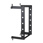 WholesaleCables.com 61R1-21216 V Line Fixed Wall Rack 16U